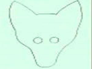 маска волка своими руками15