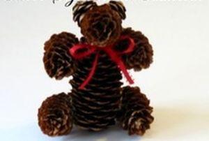 Медведь из шишек12