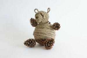 Медведь из шишек5