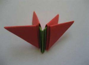 модульное оригами цветы10