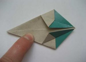 модульное оригами цветы22