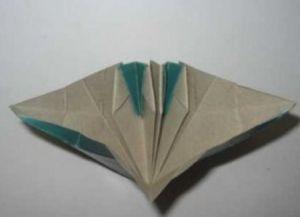модульное оригами цветы30