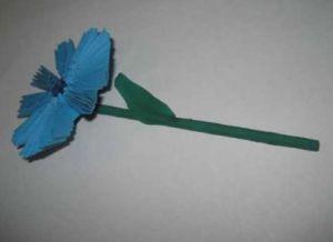 модульное оригами цветы мастер класс 11