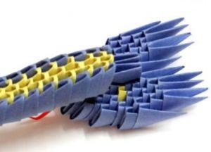 Модульное оригами - дракон23