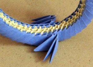 Модульное оригами - дракон25