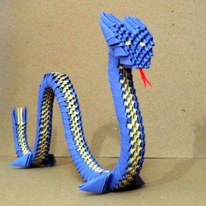 Модульное оригами - дракон26