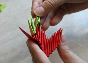 Модульное оригами - дракон31