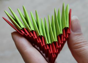 Модульное оригами - дракон32