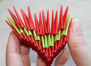 Модульное оригами - дракон33