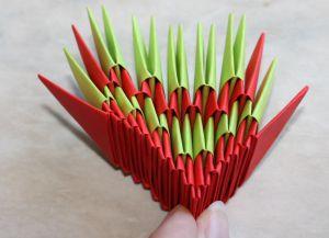 Модульное оригами - дракон34