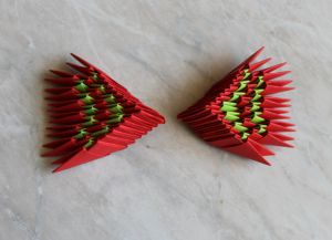 Модульное оригами - дракон38