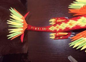 Модульное оригами - дракон42