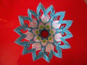 Модульное оригами - конфетница43