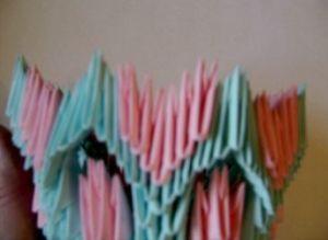 модульное оригами корзинка мастер класс14