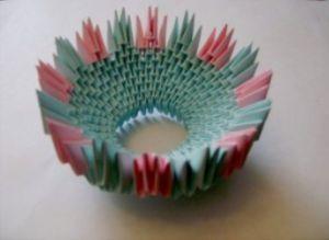 модульное оригами корзинка мастер класс8