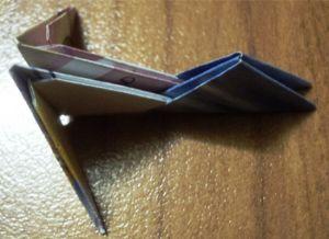 Модульное оригами - кошка1