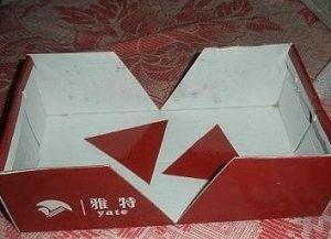 оформление двусторонней коробки для хранения вещей1
