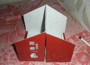 оформление двусторонней коробки для хранения вещей2