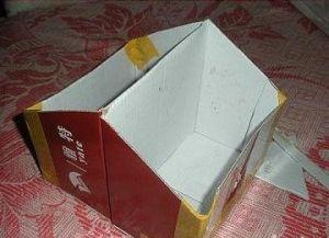 оформление двусторонней коробки для хранения вещей3