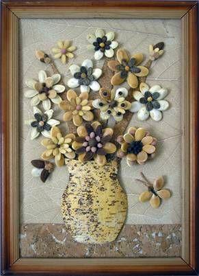 панно из арбузных семечек7
