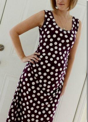 Платье для беременных своими руками6