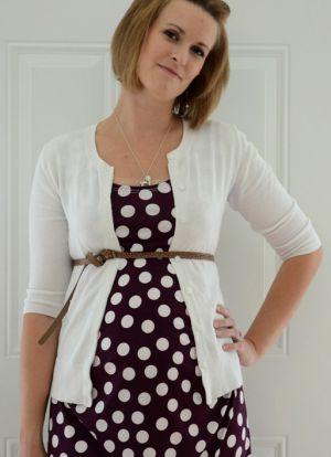 Платье для беременных своими руками7