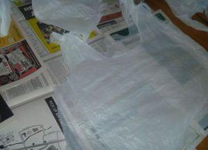 платье из пакетов5