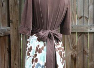 Платье в пол своими руками12
