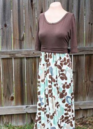 Платье в пол своими руками15
