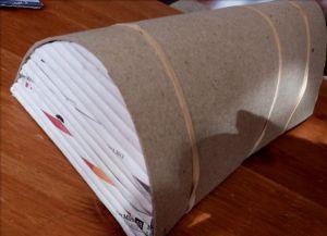 плетение сундука из газетных трубочек10