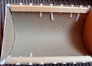 плетение сундука из газетных трубочек13