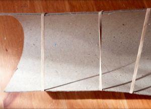 плетение сундука из газетных трубочек7