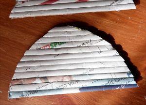 плетение сундука из газетных трубочек8