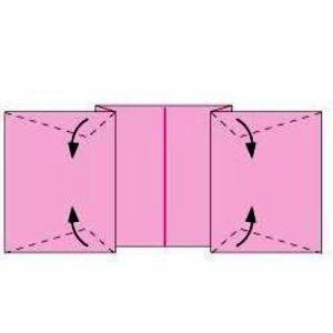 Как сделать из бумаги конфету10