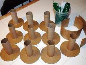 Как сделать вазу из бумаги24