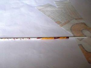 Как сделать вазу из бумаги4