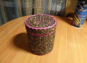 поделки из арбузных семечек4