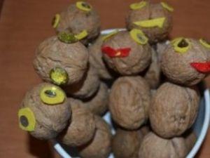 Поделки из скорлупы грецкого ореха26