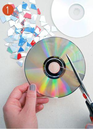 Шар из дисков своими руками13