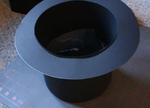 Шляпа цилиндр своими руками15