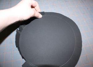 Шляпа цилиндр своими руками8