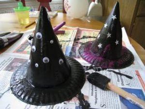 Шляпа ведьмы своими руками5