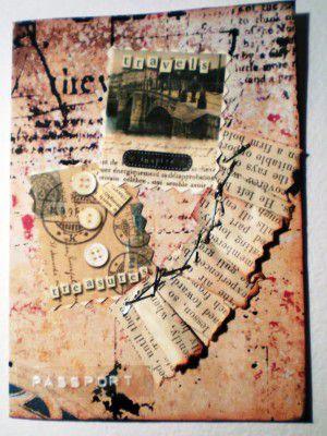 Скрапбукинг-обложка на паспорт7