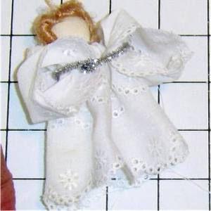 Ангел из ткани своими руками6