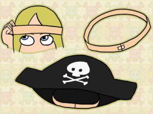 Костюм пиратки своими руками9