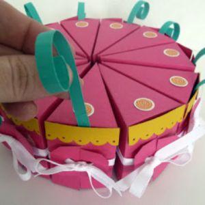 торт из бумаги своими руками12