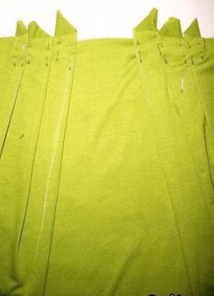 Трикотажное платье своими руками11
