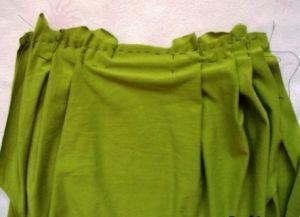 Трикотажное платье своими руками14