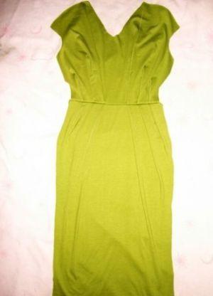 Трикотажное платье своими руками15