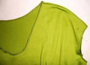Трикотажное платье своими руками17